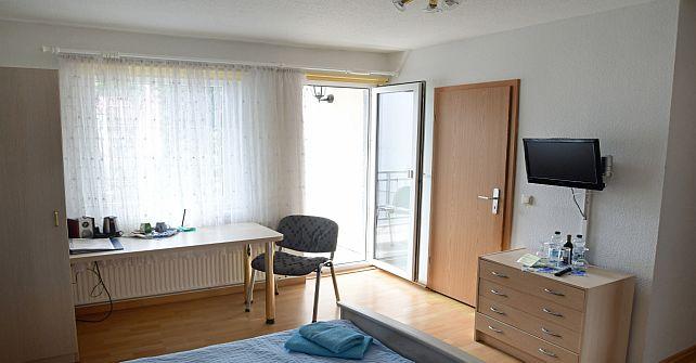 Doppelzimmer Komfort Balkon