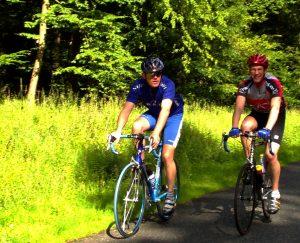 Radtour durch den Thüringer Wald